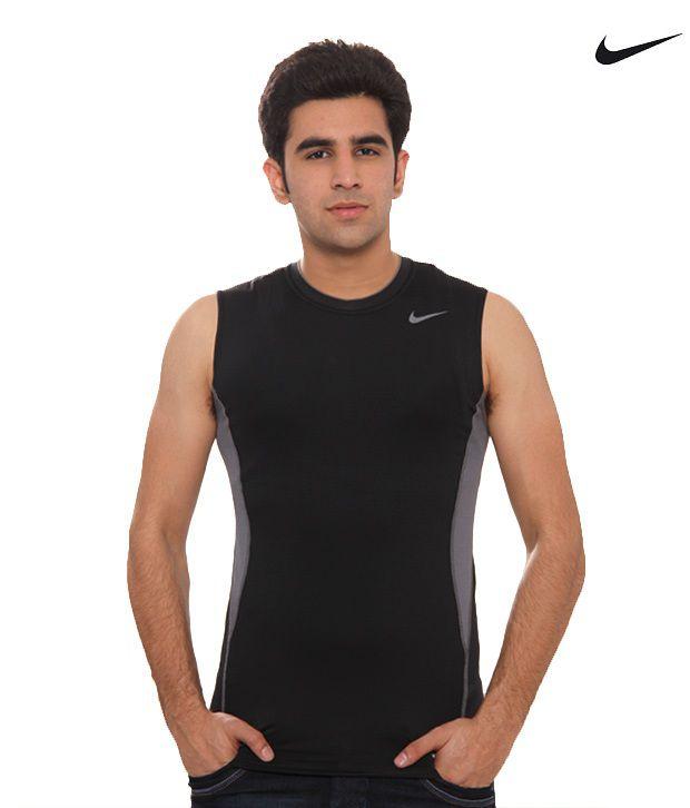 Nike Black Sleeveless T-shirt  361150-010