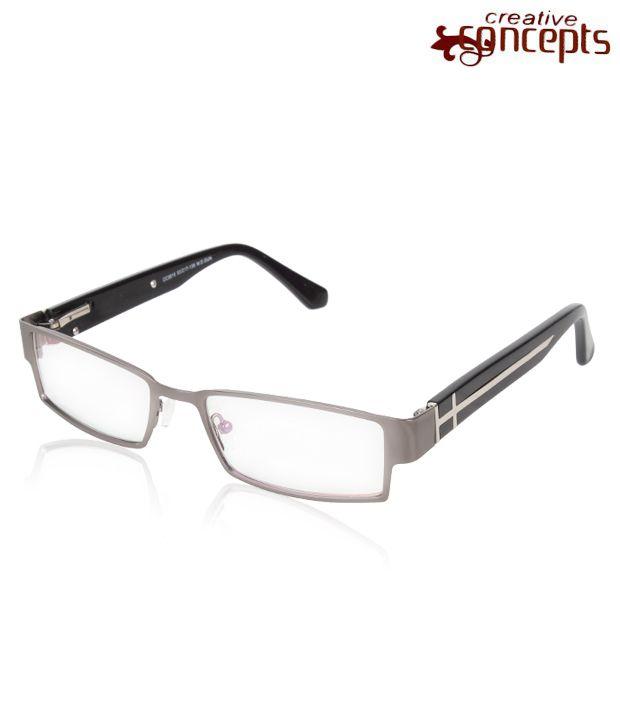 Concepts Polished Grey Eyewear