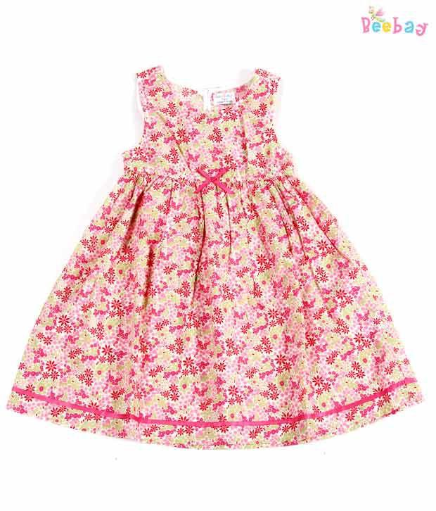 Beebay Bow Design Sleeveless Dress