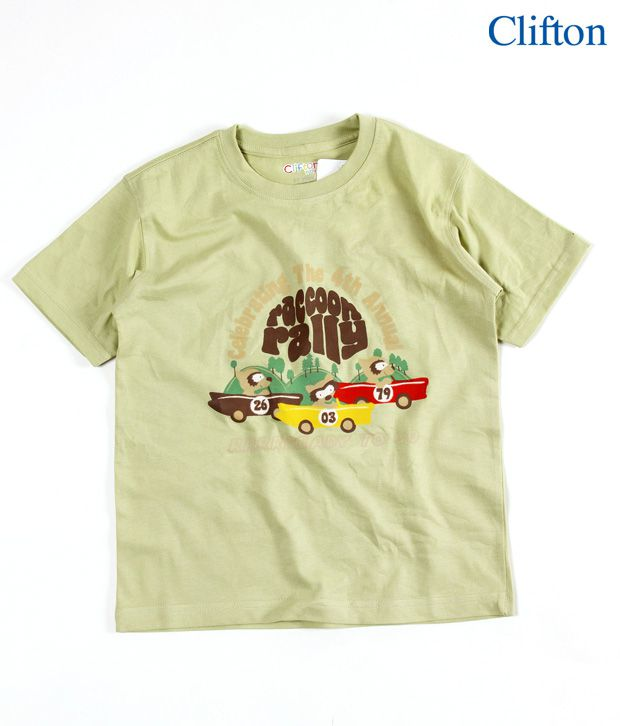 Clifton Graphic Racoon Rally T-Shirt