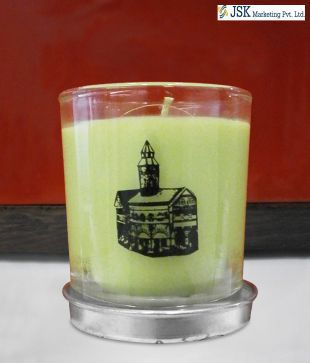 Eden Lemongrass Green Candle