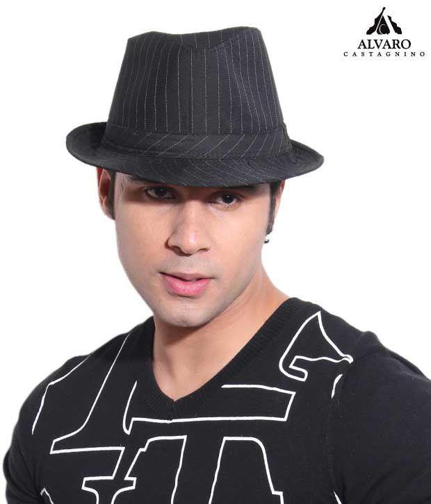 Alvaro Black & White Retro Style Hat
