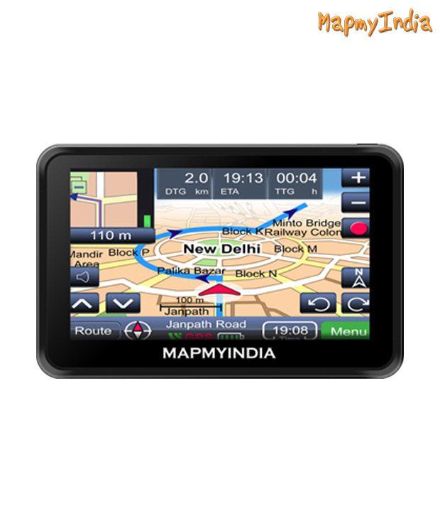 MapmyIndia Vx140s Premium GPS Car Navigation System