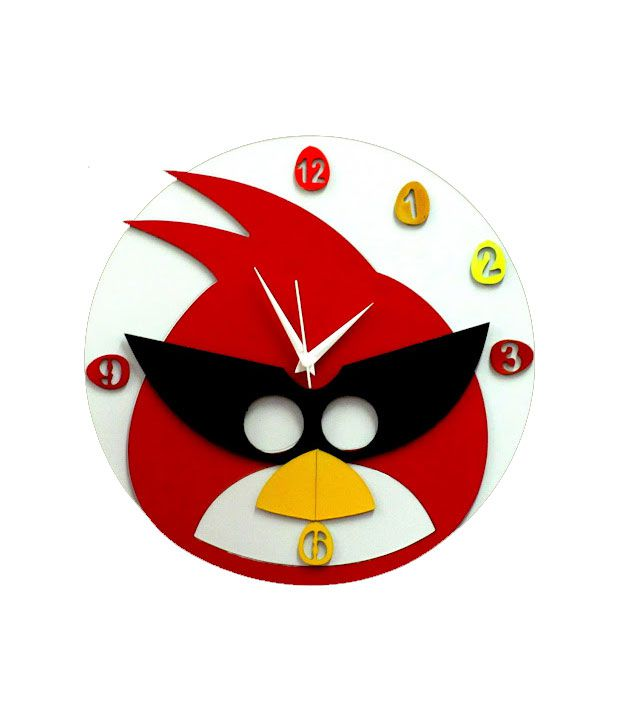 home and you funky bird wall clock buy home and you funky