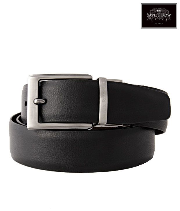 The Savile Row Ravishing Black & Brown Reversible Belt