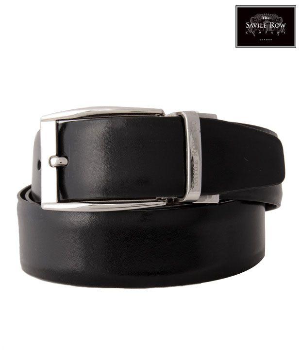The Savile Row Fascinating Black & Brown Reversible Belt