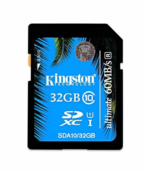 Kingston Ultimate Series Class 10 32 GB SDHC Card