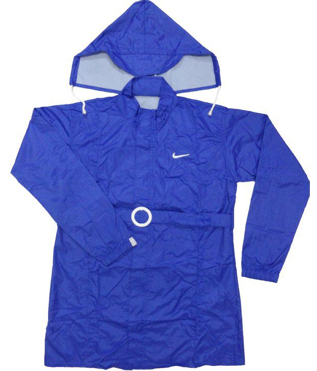 Jazzup Monsoon Blue Raincoat For Kids