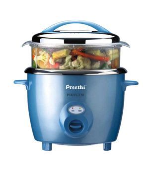 Preethi 1 8 L Blue Ss Pan Automatic Rice Cooker Price In India Buy Preethi 1 8 L Blue Ss Pan Automatic Rice Cooker Online On Snapdeal