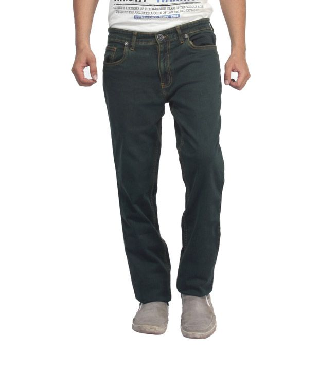Monte Carlo Army Green Jeans