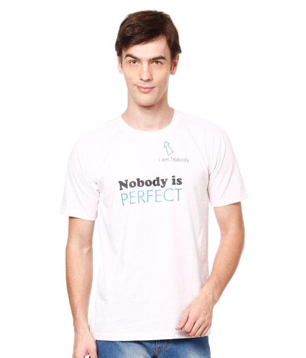 British Terminal Cool White T-Shirt