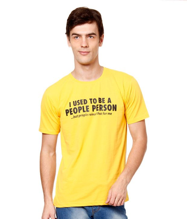British Terminal Yellow T-Shirt