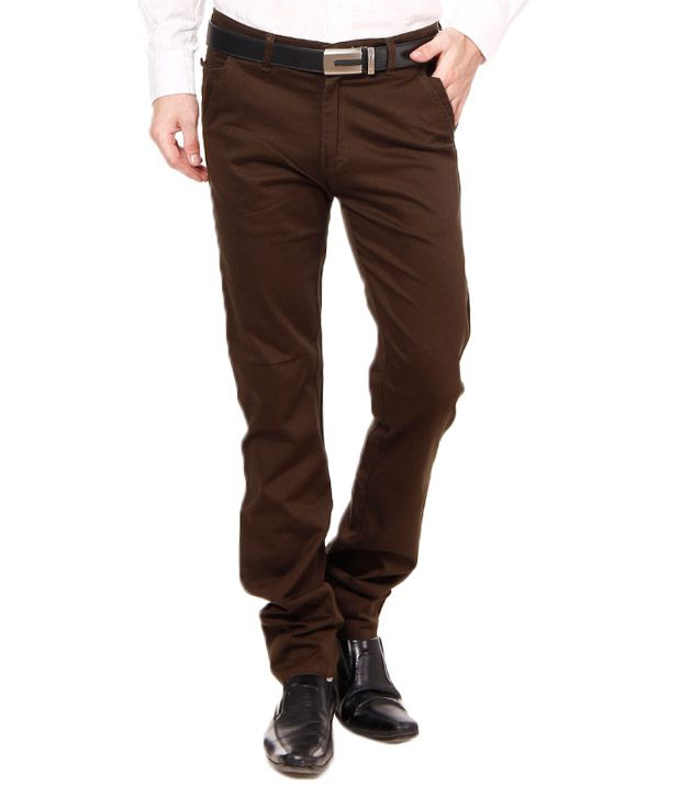 British Terminal Royal Green Stretchable Chinos