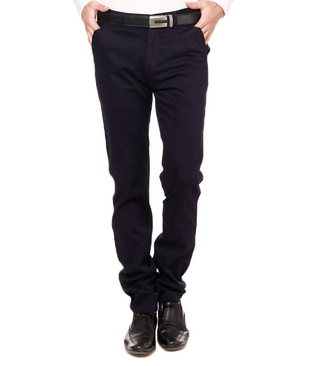 British Terminal Royal Blue Stretchable Chinos
