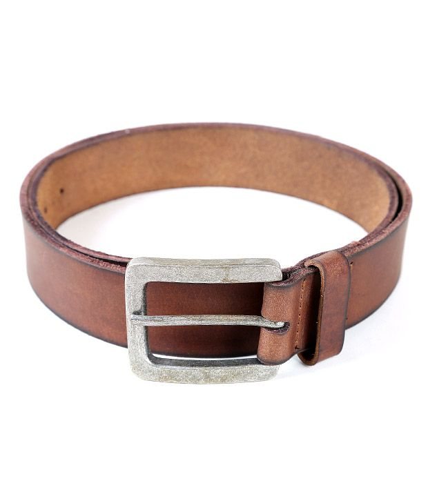 Lino Perros Smart Brown Smooth Finish Belt