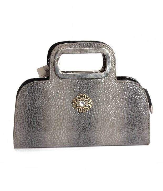 Eleegance Grey Fashion Clutches