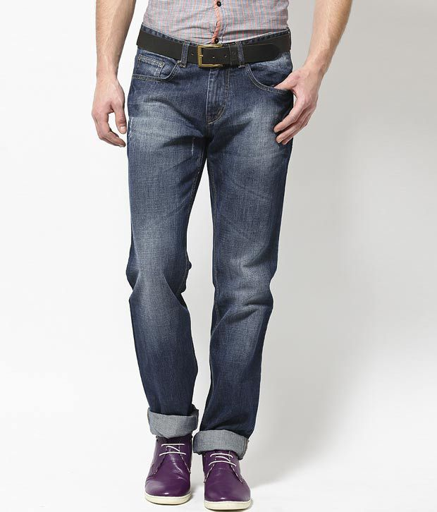 Turtle Blue Slim Fit Jeans