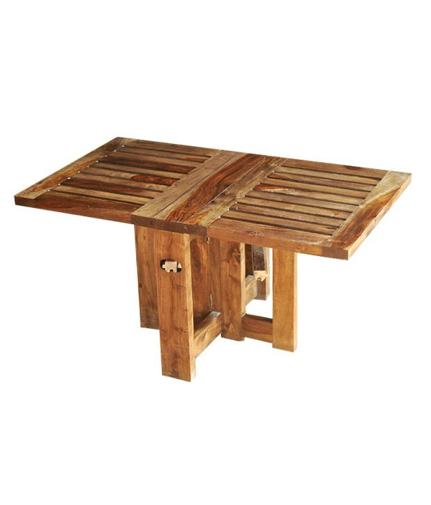 Sheesham Wooden Folding Coffee Table