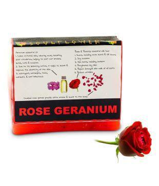Soulflower Rose Geranium Beauty Soap