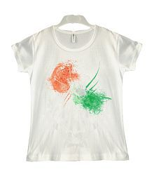 Goodway Modern Art Independence Day T-Shirt for Kids