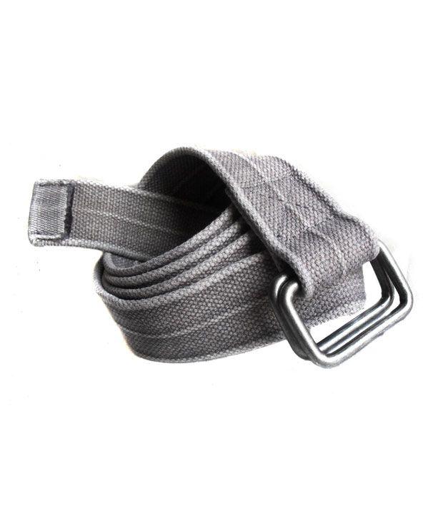 Born to Ride Grey Canvas Belt