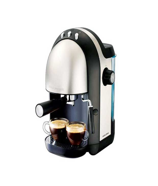 Morphy Richards Elipta Coffee Maker 47155 : Morphy Richards Meno Brushed Espresso Coffee Maker Black Price in India - Buy Morphy Richards ...