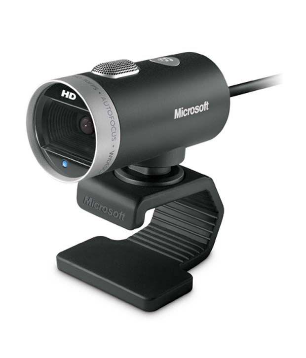 Microsoft LifeCam Cinema Webcam (Black & Silver)
