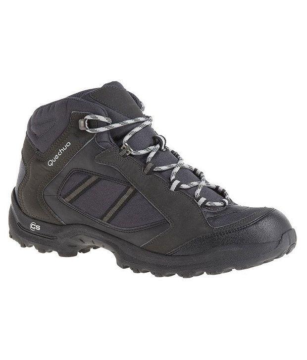 Quechua Forclaz 50 Dark Grey Hiking Shoes 8244102