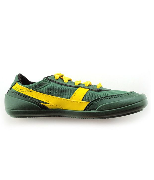 0d26f6c9eaa New Feel Green & Yellow Casual Shoes 5000004 For Kids