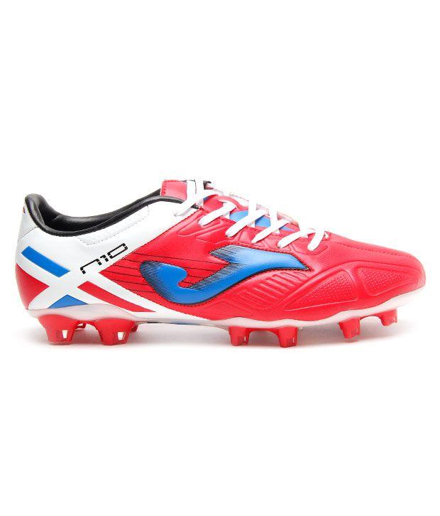 736d2f196ea Joma Numero Red & White Football Shoes - Buy Joma Numero Red & White ...
