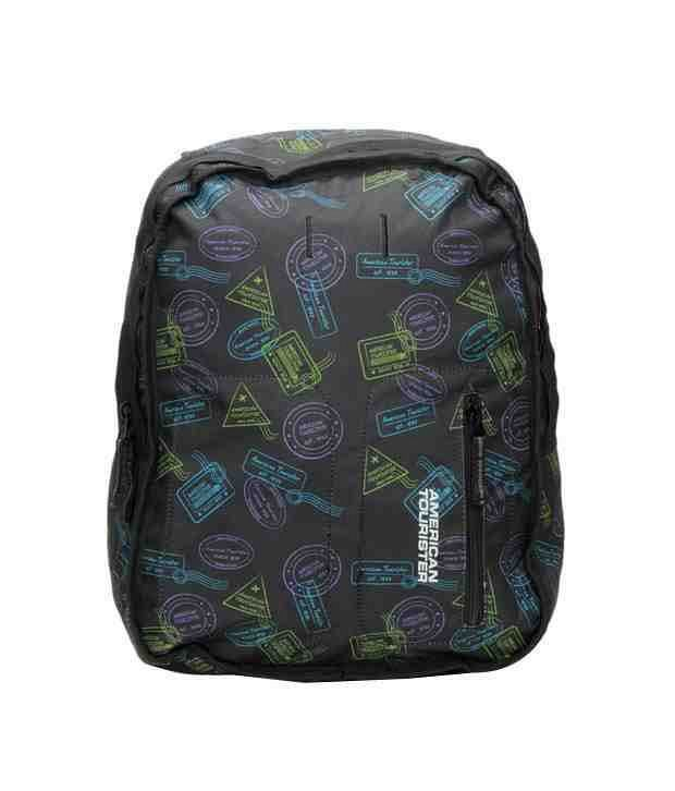 American Tourister Code Backpack - Black Stamp
