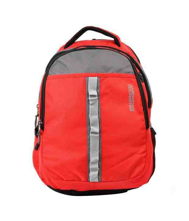 American Tourister Buzz Laptop Backpack - Red