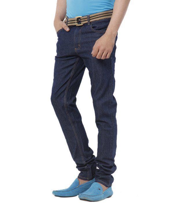Ivoc Smart Dark Blue Basics Jeans