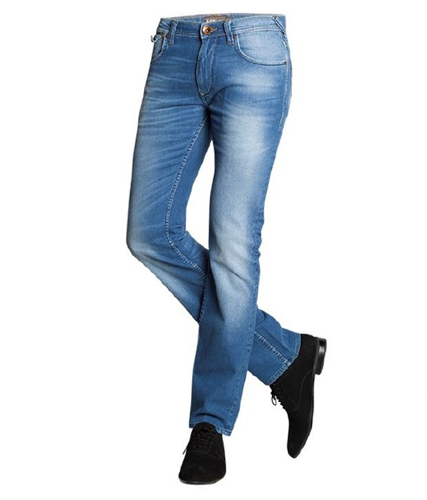 Lee Exclusive Blue Faded Jeans