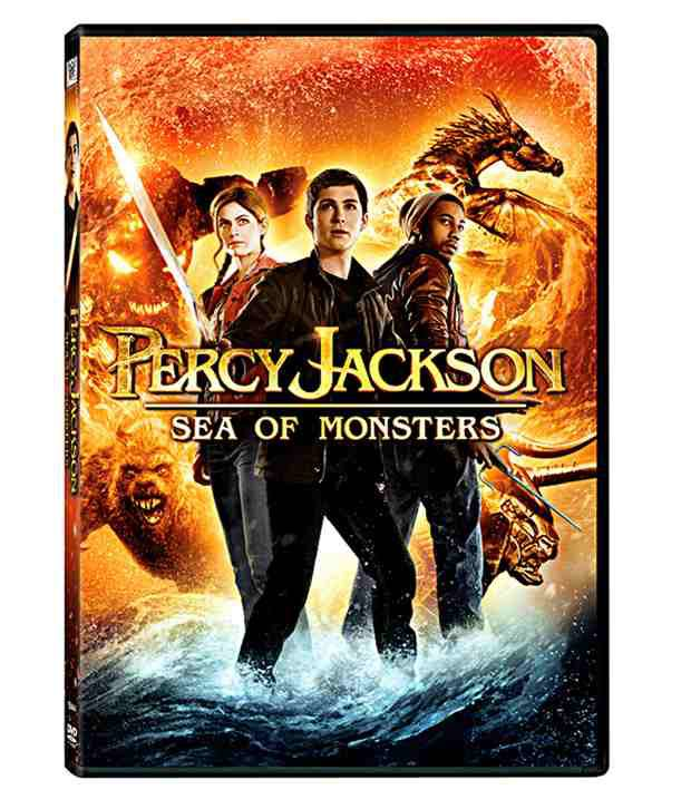 Percy Jackson: Sea of Monsters (English) Blu-ray