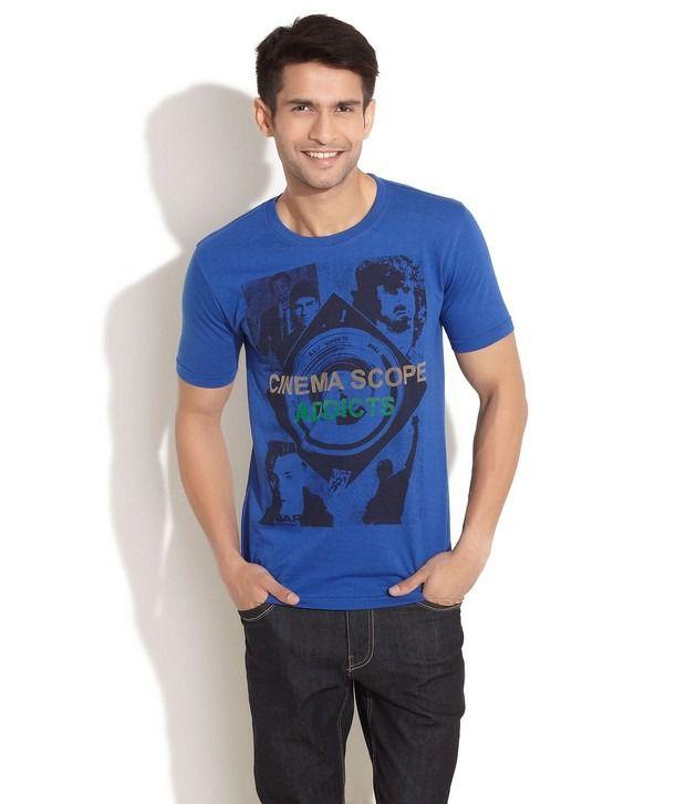 Taanz Blue T-Shirt