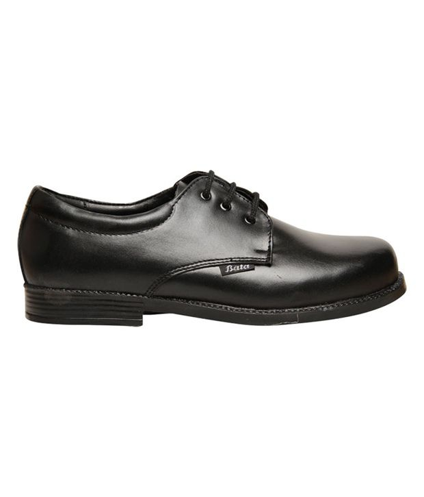 4cc6efbbb6 Bata Black Leather School Shoes For Kids Price in India- Buy Bata ...