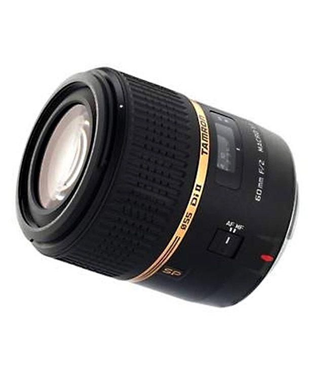 Tamron G005 SP AF60 mm F/2 Di-II  LD (IF) 1:1 Macro w/ hood (for  Canon) Lens