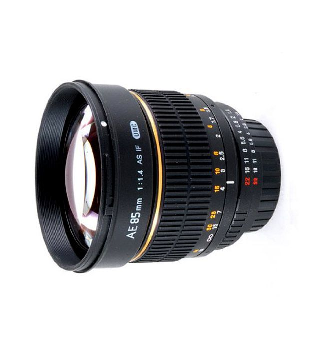 Rokinon 85MAF-N 85 mm F1.4  Aspherical Lens for Nikon with  Automatic Chip (Black)