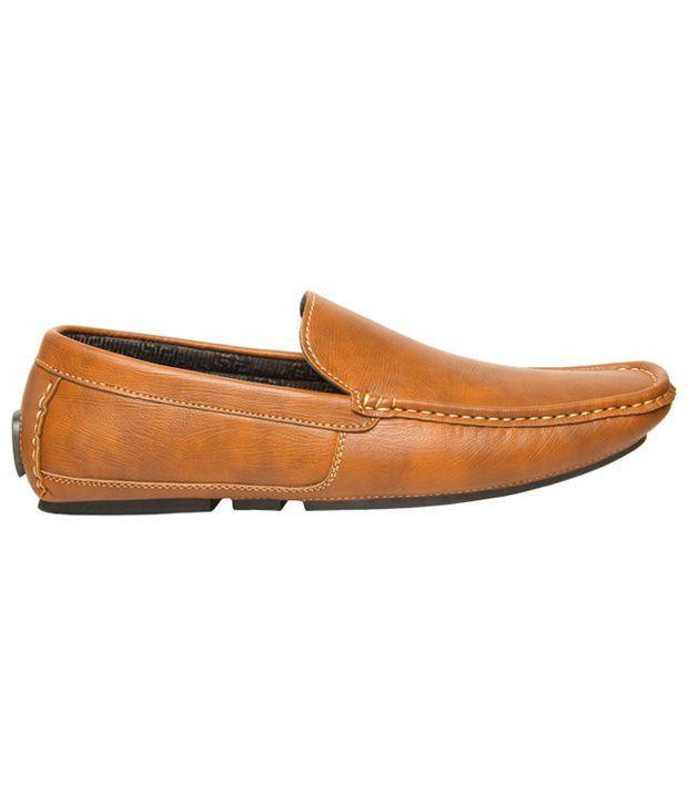 Bata Brown Loafers - Buy Bata Brown