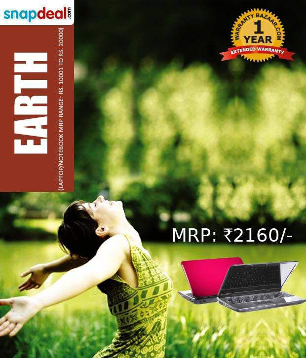 Extended Warranty Pack For Laptop Earth 10001 20000