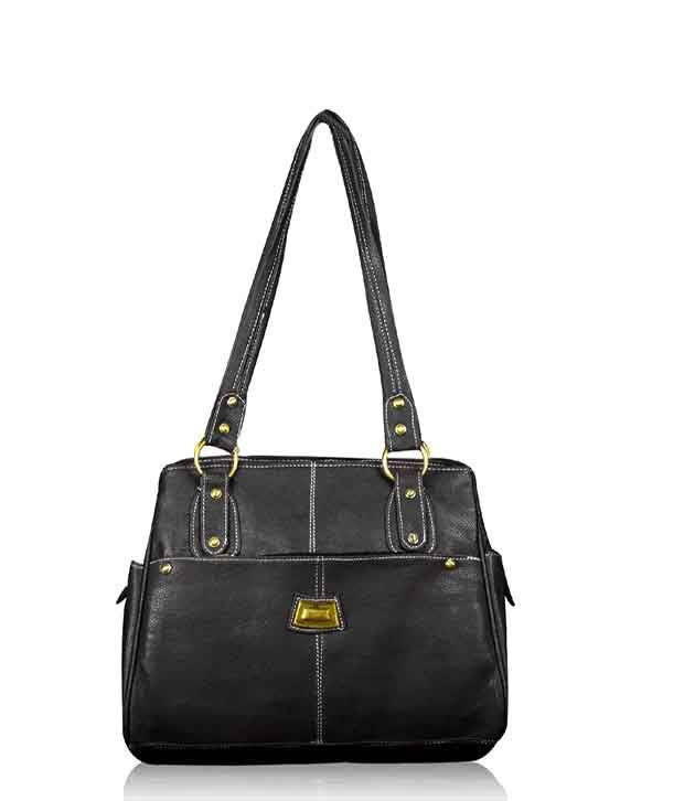 Fostelo Black Fashion Handbag