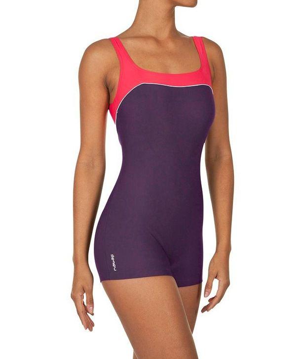 Nabaiji Swimming Loran-Purple-Pink-Shorty Swimsuits 8216029/ Swimming Costume