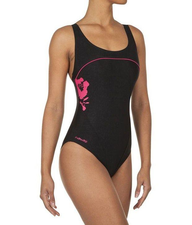 Nabaiji Swimming Mikybee-Black Swimsuits 8215663/ Swimming Costume