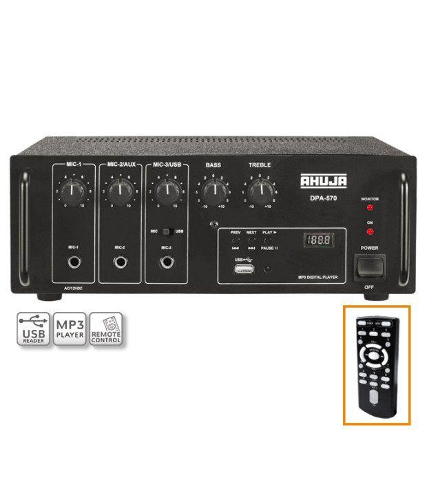 Ahuja Amplifier DPA-570