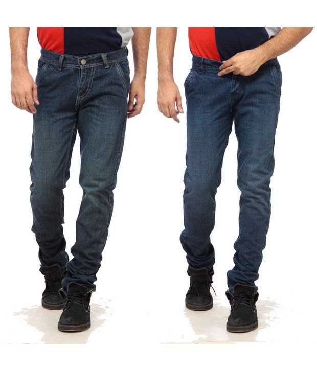 NX Fine Blue Basic  Pack of 2 Jeans