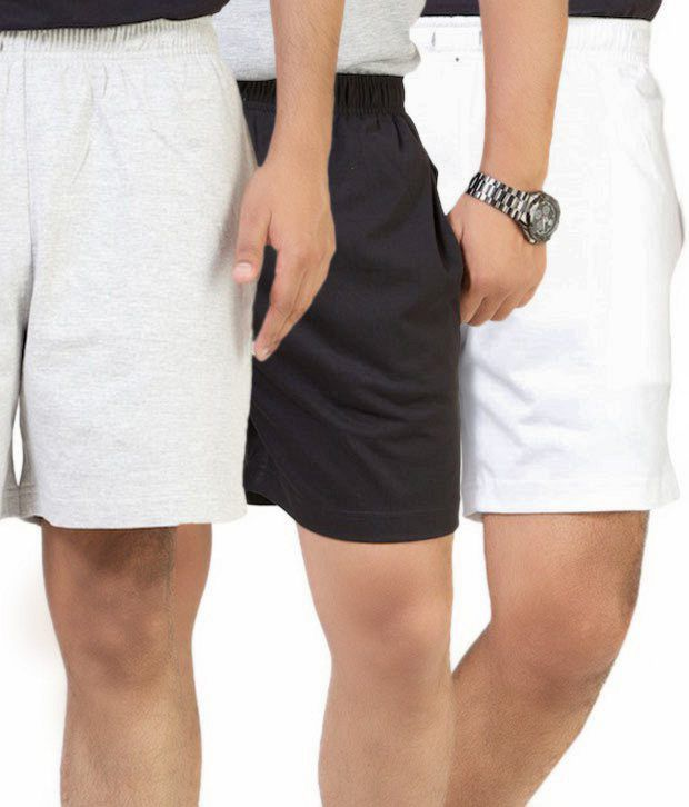 Cotson Fashionable Pack of 3 Shorts