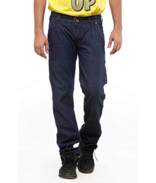 Delhi Seven Cool Blue Basic Slim Fit Jeans