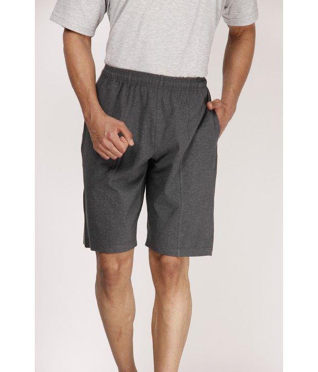 Casual Tees Dark Grey Sports Shorts