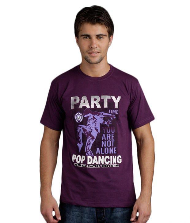 Yepme Party Pop Dancing Purple T-Shirt